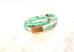 Fabric Multiwrap Bracelet
