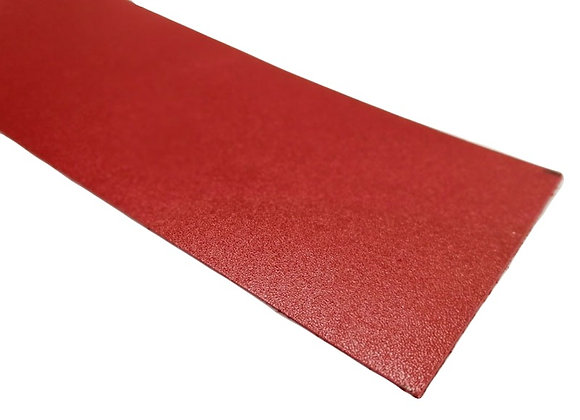 Italian Leather Strip - Red 1.4mm
