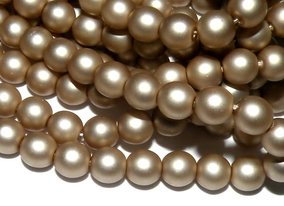 Glass Pearl Bead 16mm - Choice of Colours