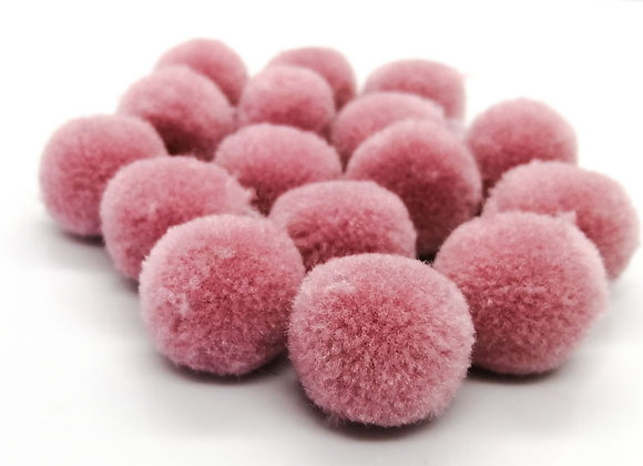 Multi Soft Pompom Pack of 30 Pink