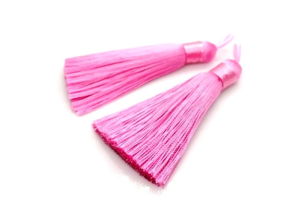 Polyester Tassel - Pink Pack of 2