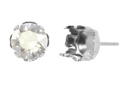 TQ Metal Studs for SS39 Setting - Antique Silver Pack of 2