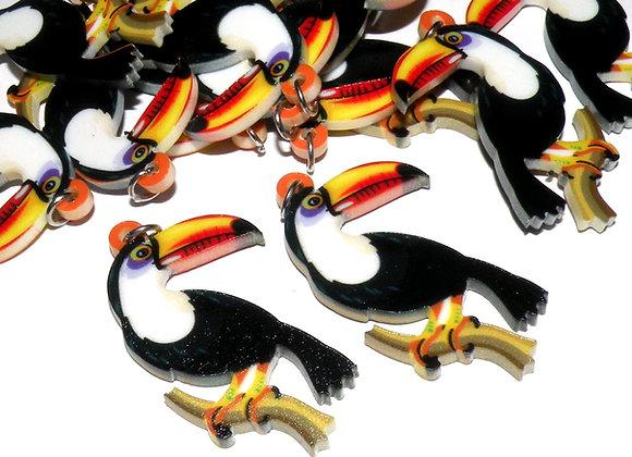 Large Resin Toucan Bird Charm