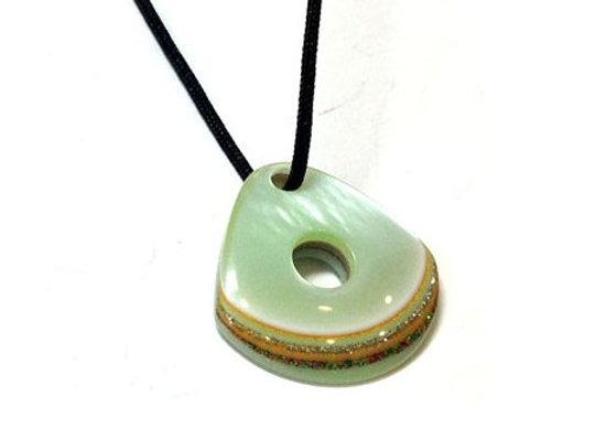 Acrylic pendant for jewellery making