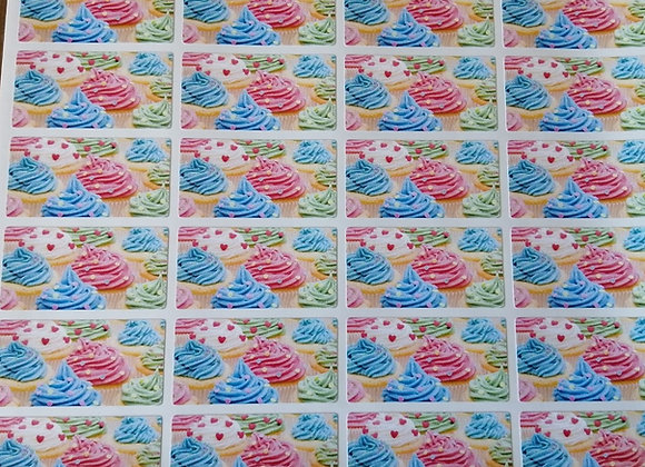 Fun Novelty Craft Stickers - Meringues - Pack of 50
