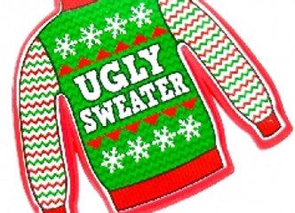 Ugly Christmas Sweater Pendant