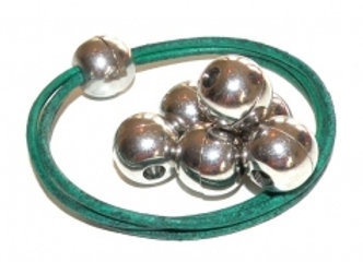 Round Magnetic Clasp - 4mm hole