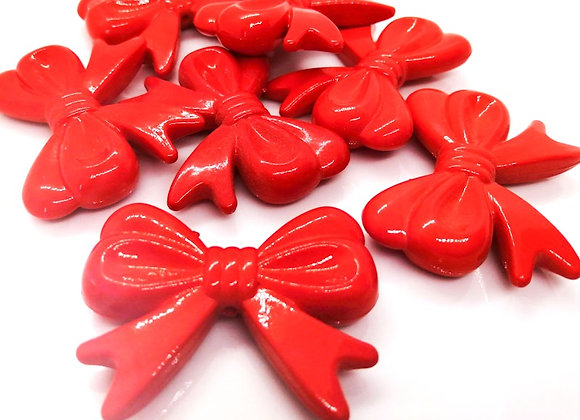 Big Bow Bead - Red