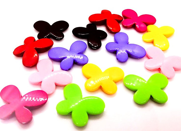 Large Butterfly Bead Pack of 10