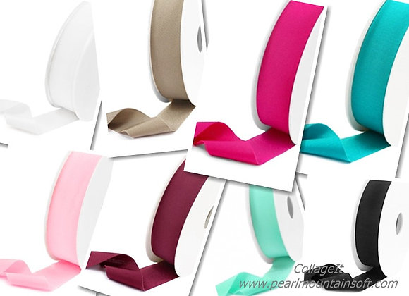 Ibiza Stretch Ribbon - Choice of Colours