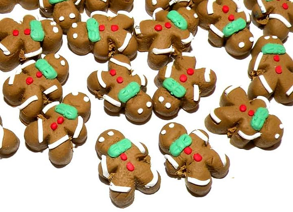 Fimo Novelty Beads 16x10mm - Gingerbread Man