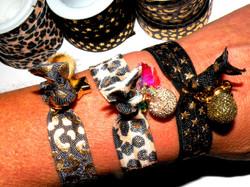 Ibiza Stretch Ribbon Bracelet