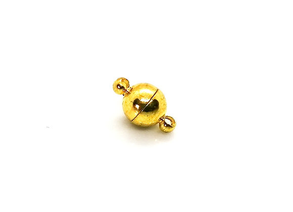 Magnetic Clasps 14mm - Gold