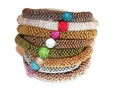 Snowflake Spacer Bracelets
