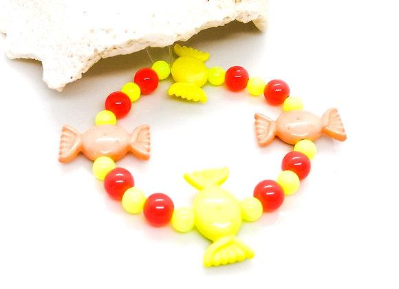 Elastic Bracelet Kit - Candy Sweet Yellow/Orange