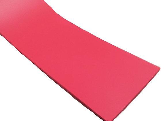 Italian Leather Strip - Neon Pink 1.9mm