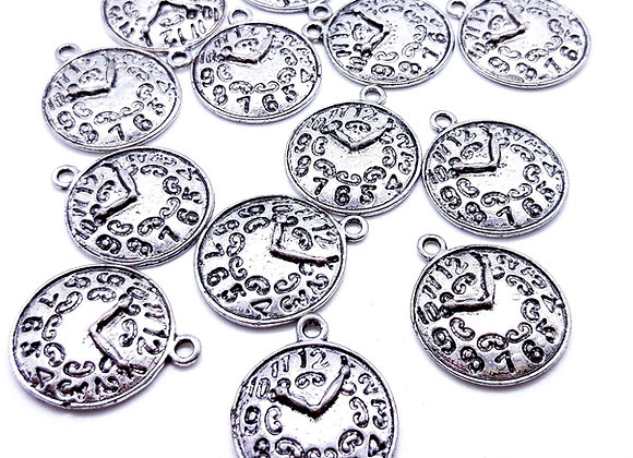 Quirky Clock Face Charm