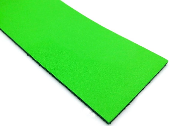 Italian Leather Strip - Bright Green 1.4mm
