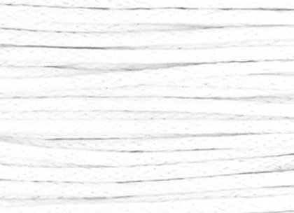Waxed Cord 1mm - White