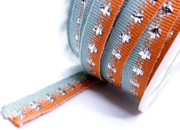 Grosgrain Ribbon With Metal Detail