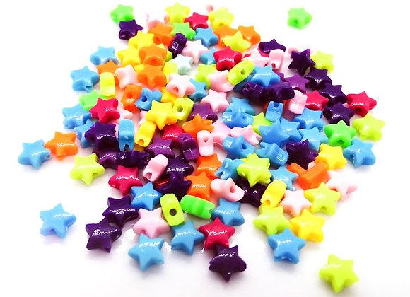 Teeny Tiny Star Beads Pack of 100