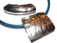 Large metal pendant