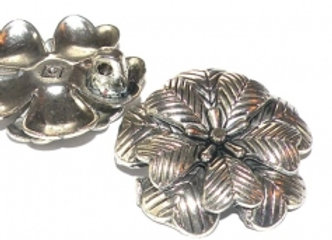 Alloy Metal Heavy Flower Pendant!