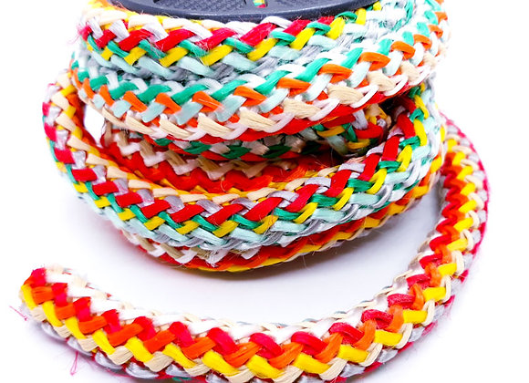 Large Multi Knitted Cord - Orange Multi Mix!