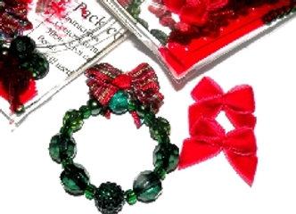 Mini Christmas Decoration - Green