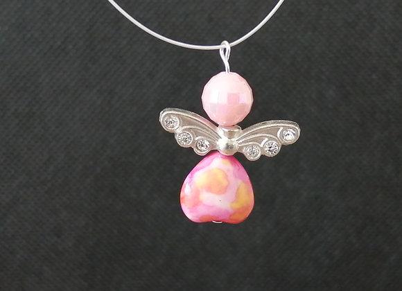 Crystal Disco Angel Making Kit - Pink