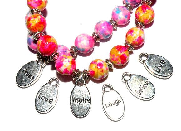 Tibetan Style Word Charm - Love