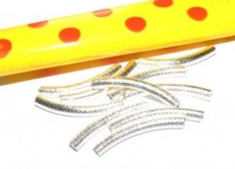 Short Patterned Bracelet Bar Noodle Bead