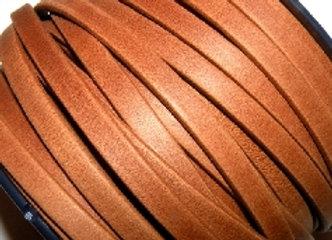 Matt Camel Flat Leather 5mm