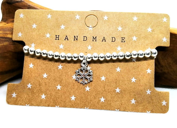 Christmas Bracelet Kit - with Snowflake