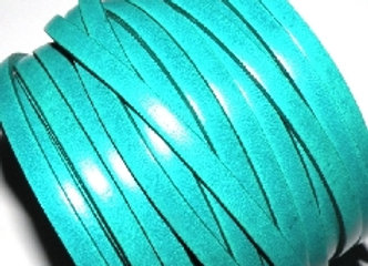 Jade Flat Leather 5mm