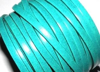 Jade Flat Italian Leather 5mm