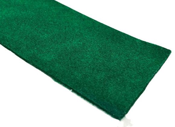 Suede Strip - Green 2mm