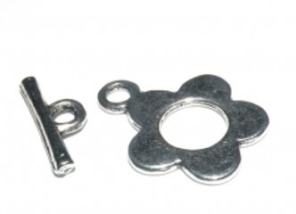 Flower Toggle Clasp