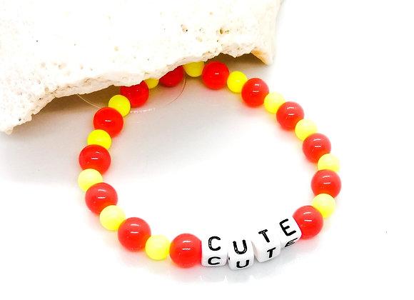 Elastic Bracelet Kit - Sunshine 'Cute'