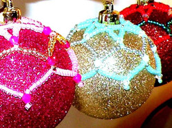 Beaded Bauble Covers