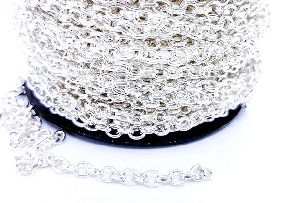 Rolo Chain Bright Silver 5mm