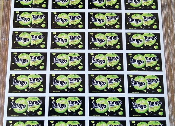 Fun Novelty Craft Stickers - Tango Apple - Pack of 50