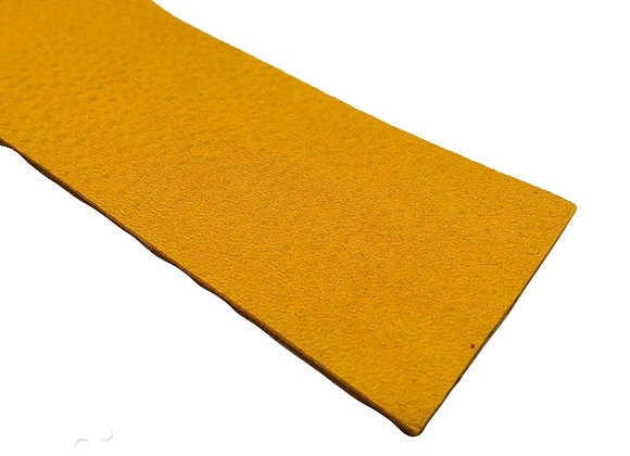 Leather Strip - Mustard 2mm