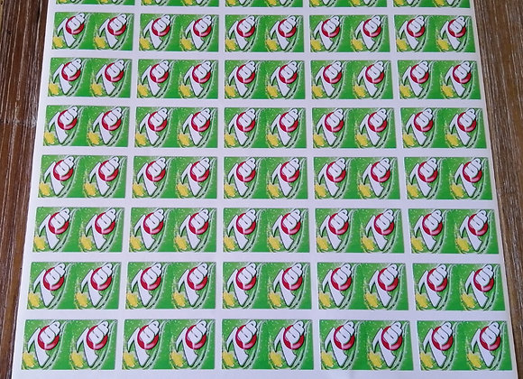 Fun Novelty Craft Stickers - 7 Up - Pack of 50