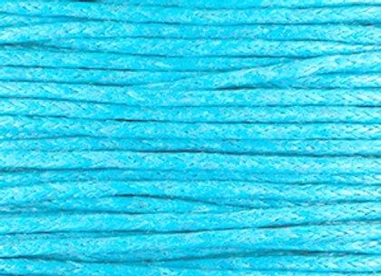 Waxed Cord 1mm - Capri Blue