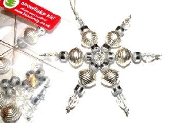 Christmas Silver Snowflake Kit