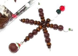 Christmas Pudding Snowflake Kit