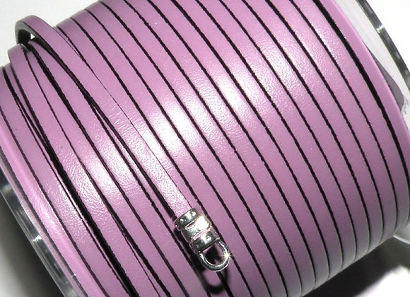 Lilac Flat Leather 3mm