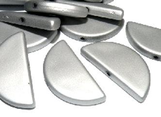 Acrylic semi circle bead