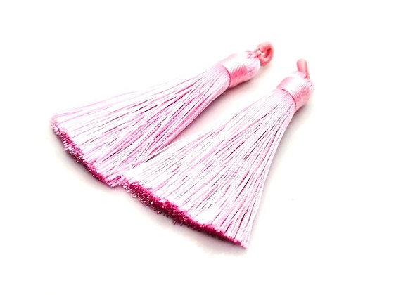 Polyester Tassel - Pale Pink Pack of 2